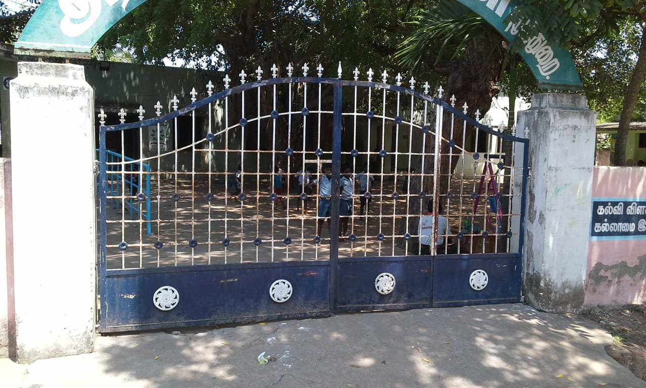 SCHOOL RENOVATION AT GOVT. MIDDLE SCHOOL PUDUTHURAI